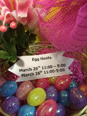 Egg Hunts Good Friday and Saturday!