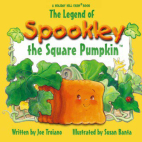 Spookley the square pumpkin is your guide on this trail.