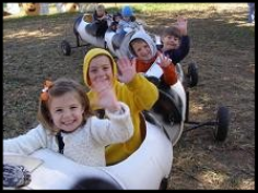 The Cow Train at Amazin' Acres of Fun!