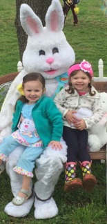 Easter Egg Hunts and Pictures with the Easter Bunny