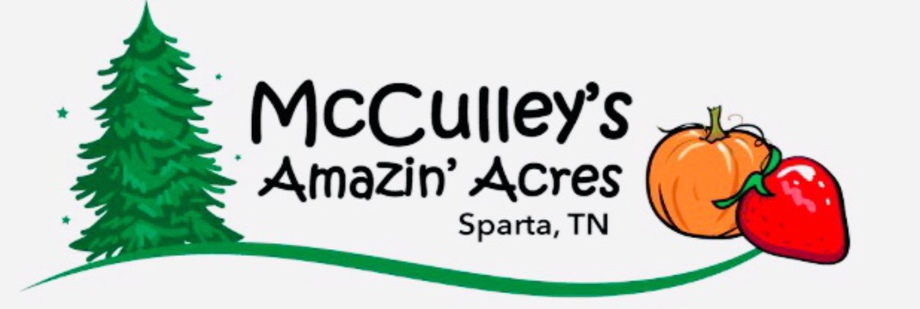 McCulleys Amazin Acres located in Sparta TN providing  Easter Egg hunts, strawberries, pumpkins and christmas trees!